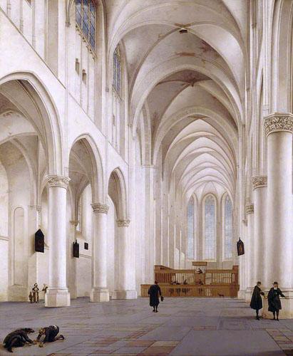 Saenredam, Pieter Jansz.; The Interior of the Church of St Catherine, Utrecht; National Trust, Upton House; http://www.artuk.org/artworks/the-interior-of-the-church-of-st-catherine-utrecht-131986