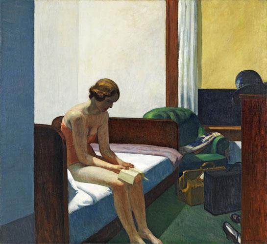 HOPPER, Edward_Habitación de hotel, 1931_594 (1977.110)