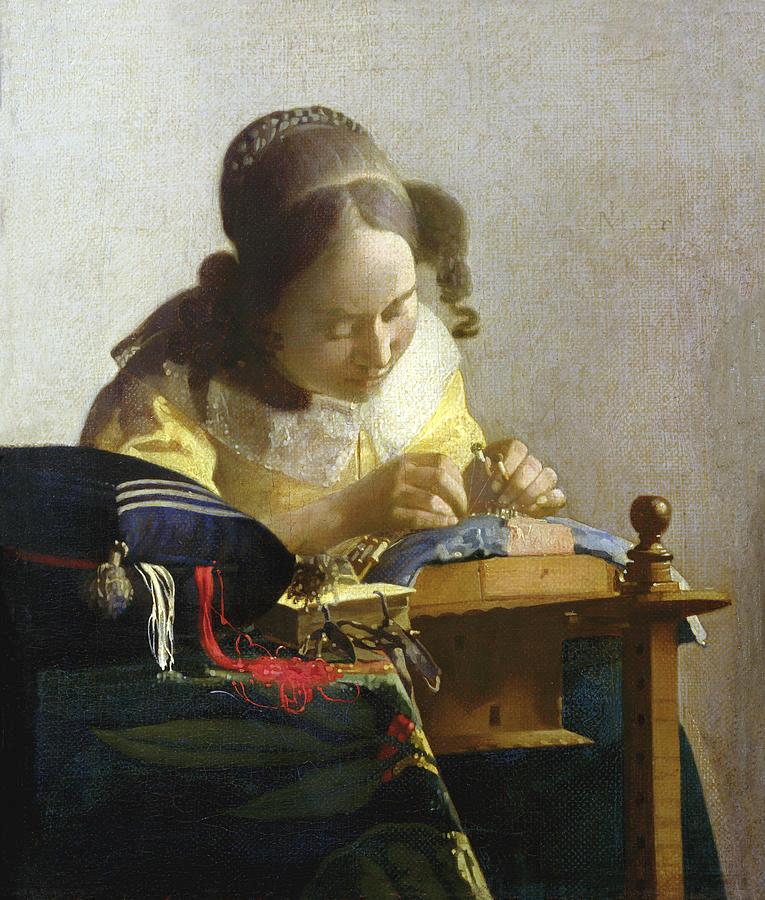 the-lacemaker-jan-vermeer
